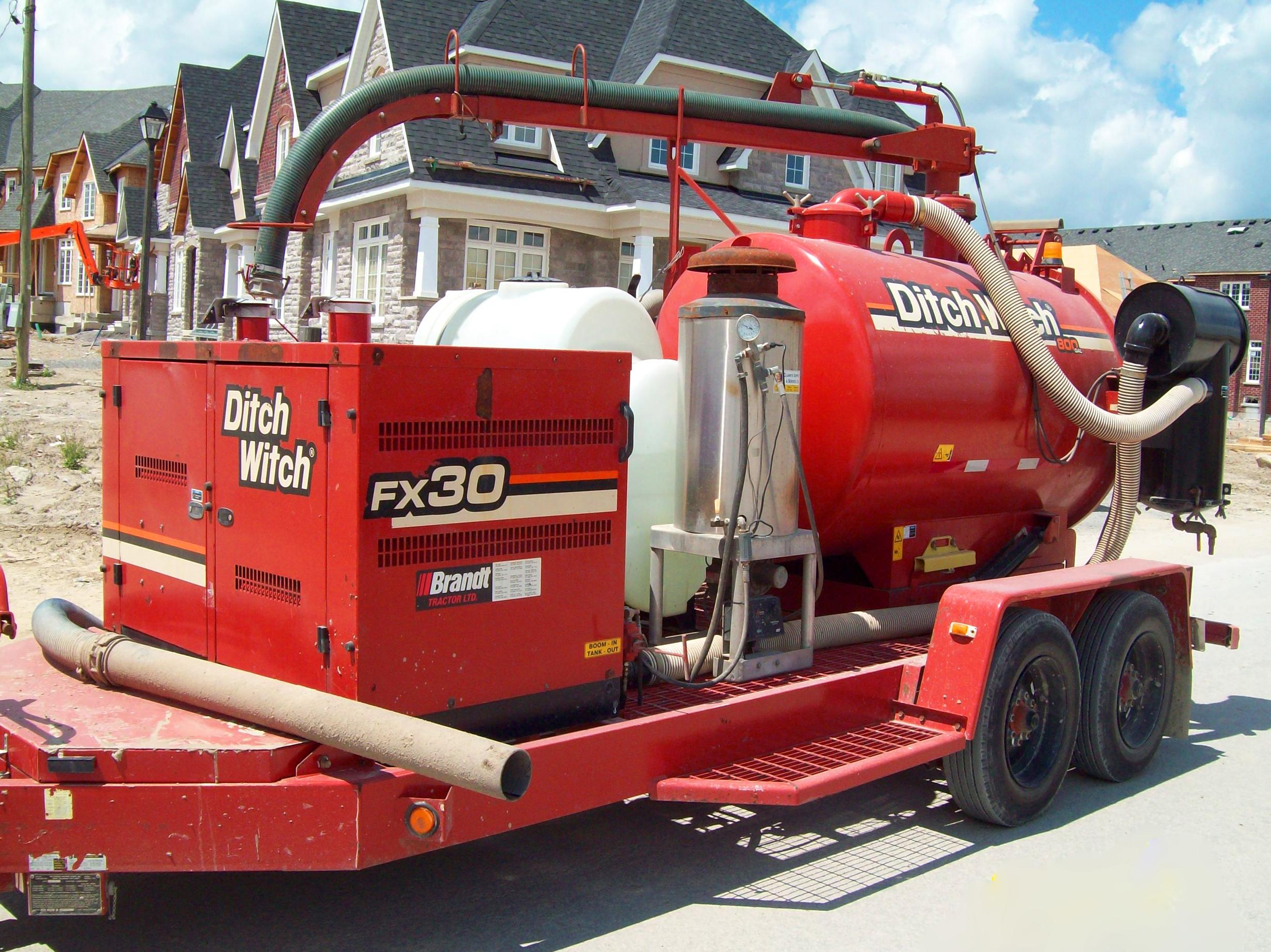 Hydrovac & Hydro Excavation Service  Cardan Hydrovac -> Kuchnia Weglowa Hydro Vacuum
